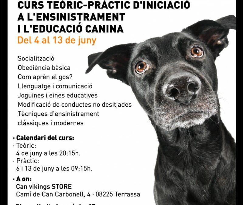 Curs teòric-pràctic d'iniciació a l'ensinistrament i a l'educació canina